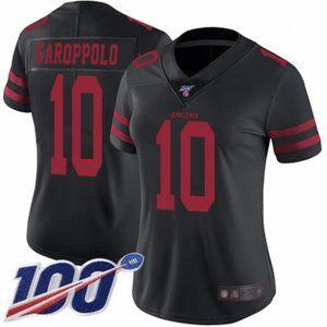 Women 49ers Jimmy Garoppolo 100th Season Jersey (2